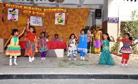 WELCOME DAY FOR KINDER GARTEN KIDS